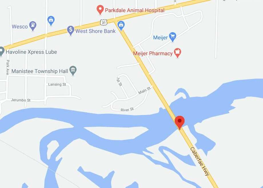 MDOT will host an informational open house meeting Sept. 15 to provide the latest information regarding the project to replace the M-55 bridge over the Manistee River. Photo: Screenshot/Google Maps