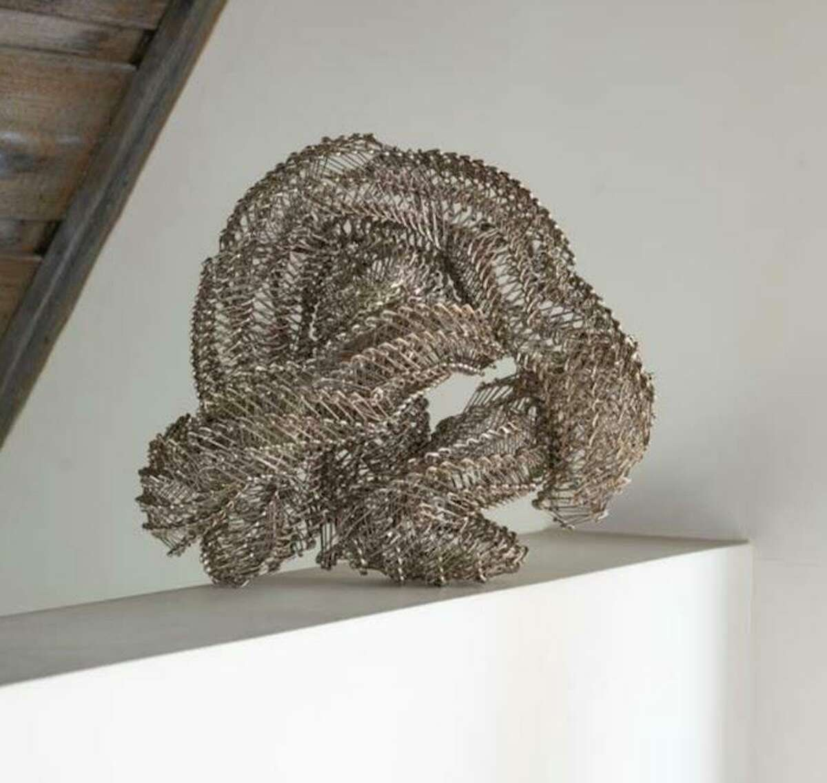 Unknown Creature by Tamiko Kawata is featured in browngrotta arts' new fiber exhibition,