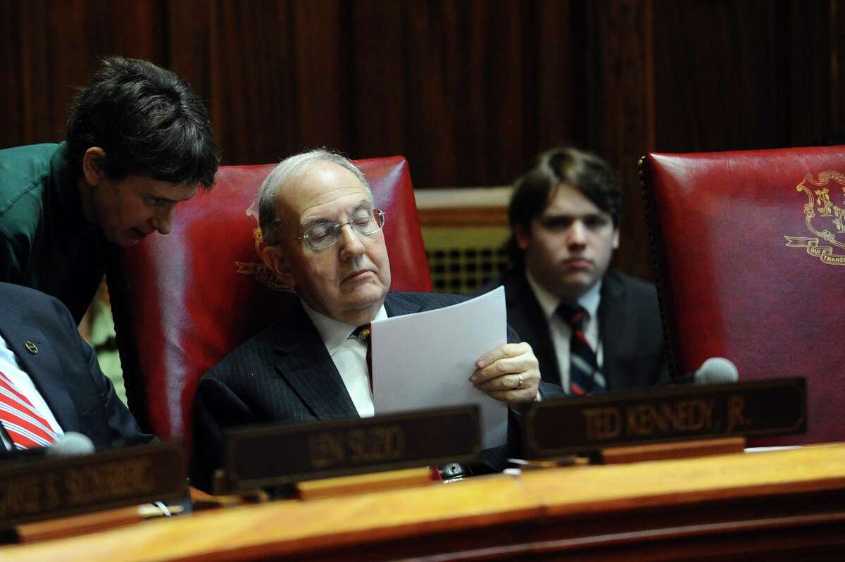 Senate President Pro Tempore Martin Looney, D-New Haven, in a file photo