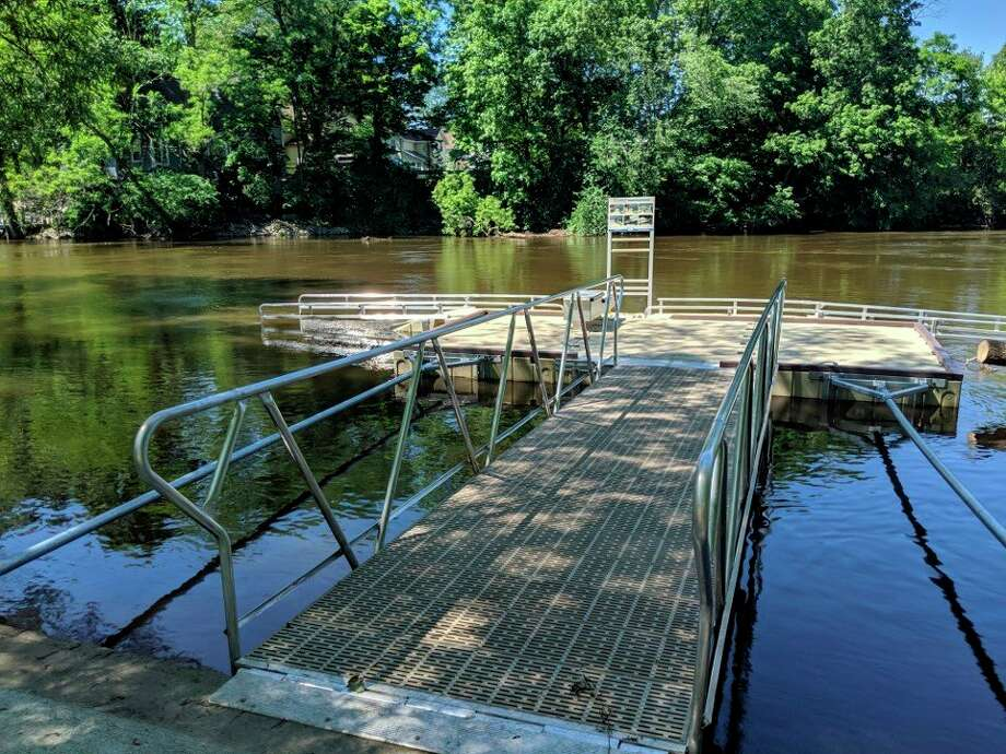 Though not every project has all the funding needed to begin, Hemlock Park Committee member Jon Coles said the committee has received the funds to move forward with a new kayak launch. He said the committee is hoping to purchase the apparatus as early as this fall. (Courtesy photo)
