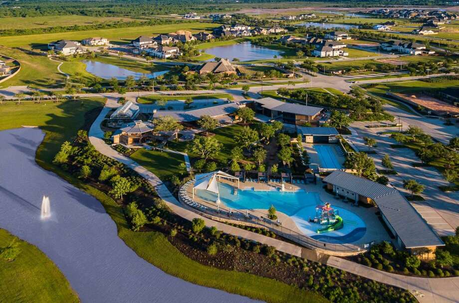 Home sales at Katy's Cane Island are reportedly up 38 percent in through August 2020 compared to the same period in 2019. Photo: Courtesy Of Kaplan Public Relations