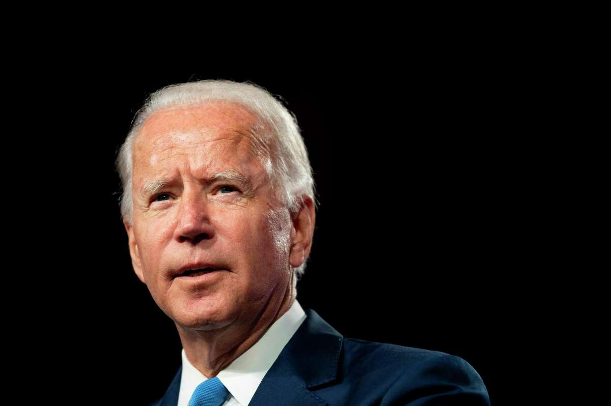 Former Vice President Joe Biden leads President Donald Trump by 10 percent, according to a Quinnipiac University national poll released Wednesday, Sept. 2, 2020.