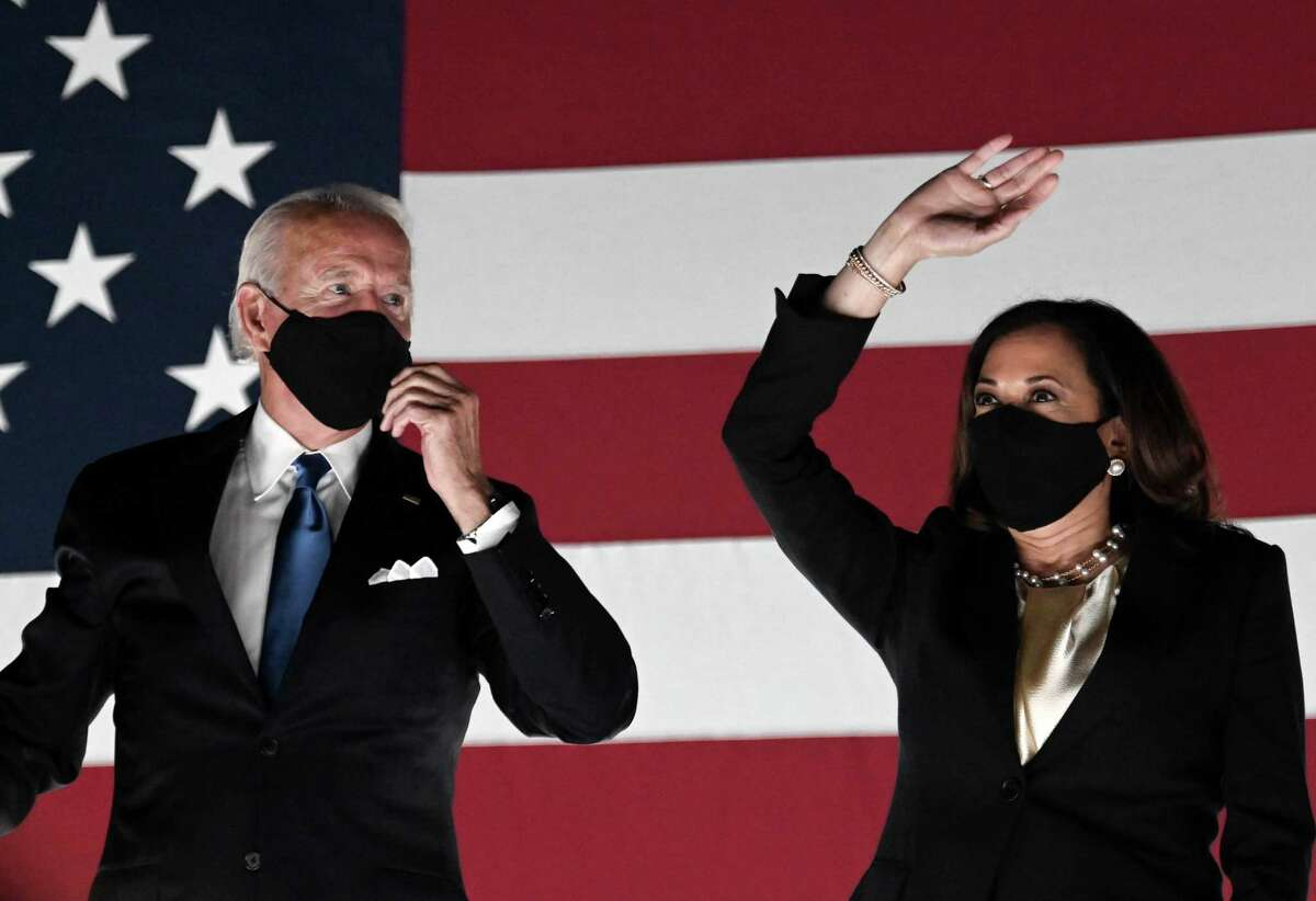 In a Quinnipiac University national poll released Wednesday, Sept. 2, 2020, Joe Biden receives a mixed favorability rating, as 45 percent have a favorable opinion and 48 percent have an unfavorable opinion. For Democratic Vice Presidential candidate Kamala Harris, 40 percent of likely voters have a favorable opinion of her, 34 percent have an unfavorable opinion, and 25 percent haven't heard enough about her.