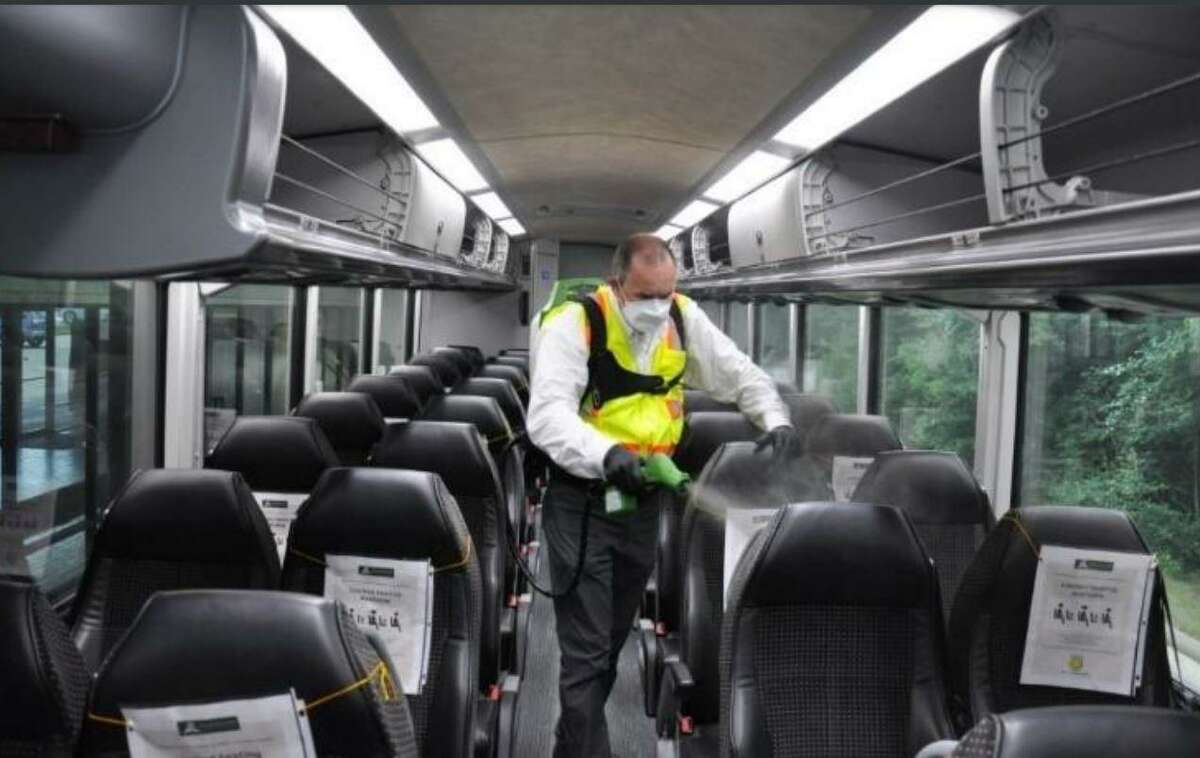 The Woodlands Transit #SitSafe initiative focuses on sanitizing of buses and trolleys, social distancing of riders and the wearing of face coverings or masks and PPE. The initiative is still in full force on all township buses and trolleys, officials said.