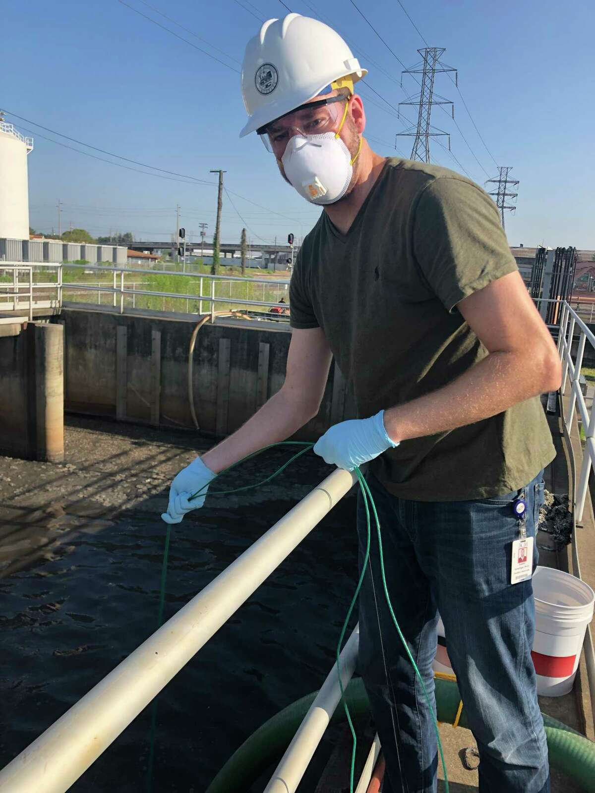 At Baylor College of Medicine, the TAILOR team finds bacteria phages in the city's wastewater and purifies them to become customized treatments for bacterial infections. During the pandemic, the team has worked with the city to test wastewater and target COVID hotspots.