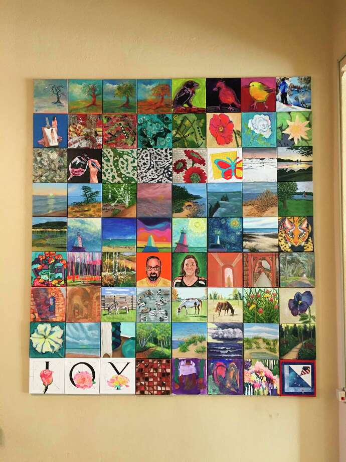 Ludington Area Center for the Arts'first ever Grab & Go art fundraiser will begin at12:01 a.m. on Sept. 5.It will feature 72pieces of original artwork created by over 22 area artists.(Courtesy photo)