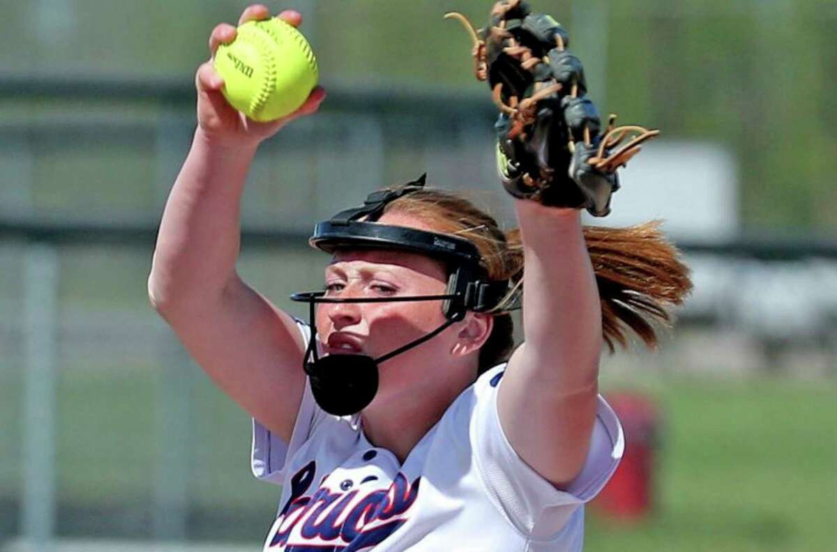 USA senior Brynn Polega shattered the record for strikeouts in a state championship game with 19 as the Patriots blew out the Rudyard Bulldogs on the way to a 14-1 victory, and more importantly, the 2021 MHSAA Division 4 State Championship.