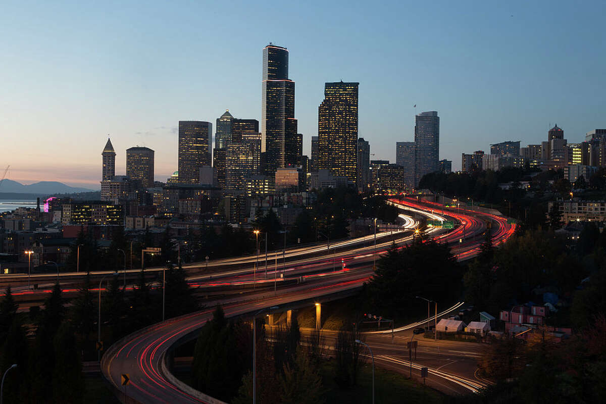 Another study found that Seattle's roads were among the worst in the nation with a staggering 44.3% of major arterials and 51.6% of minor arterials found to be in poor condition. And while some traffic projects in the city have received a boost due to less drivers on the roads during the COVID-19 pandemic, other major repairs and replacements such as the West Seattle Bridge, remain in limbo. The deterioration of road conditions is significant when considering that AAA estimates Americans spend $3 billion annually in car repairs for pothole damage alone. Keep reading to see what cities made the top ten worst for drivers list and how they ranked out of 100 metros.