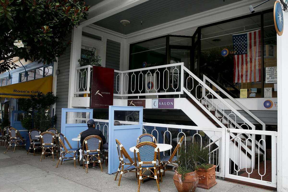The eSalon hair studio on Union Street is closed. Rep. Nancy Pelosi got her hair washed and blow-dried Tuesday.
