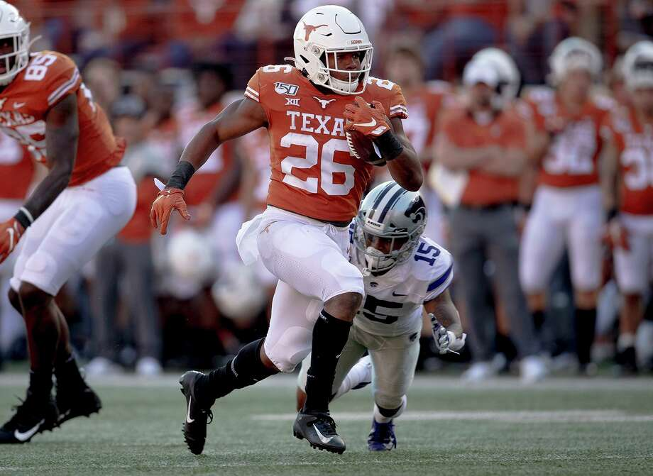 Keaontay Ingram led Texas last year with 853 rushing yards (5.9 yards per carry) and 10 total touchdowns. Photo: Nick Wagner, MBO / Associated Press / Austin American-Statesman