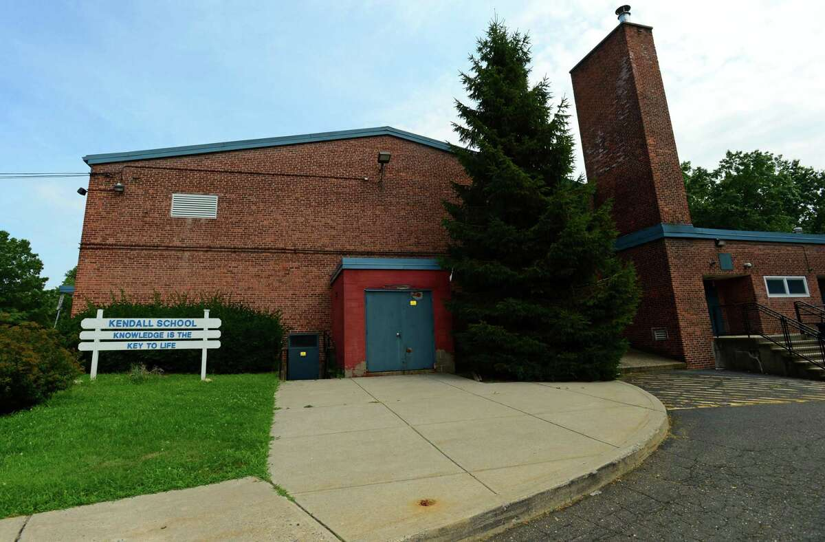Kendall Elementary School Friday, August 2, 2019, in Norwalk, Conn. Ten Kendall staff members will be in quarantine for the first day of school on Sept. 8, 2020 after coming into contact with someone else in the building who tested positive for COVID-19.