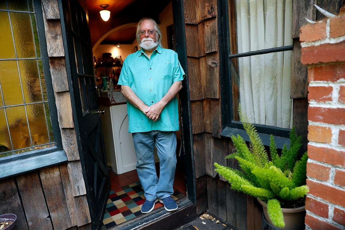 Out of work video producer Kim Salyer at his residence in Fairfax, Calif., on Monday, August 31, 2020.