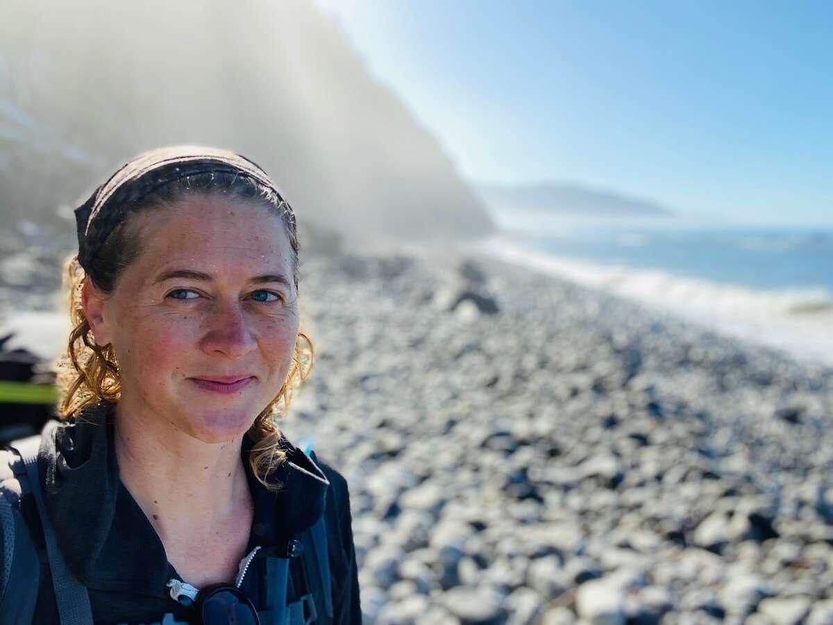 Author selfie on the Lost Coast.