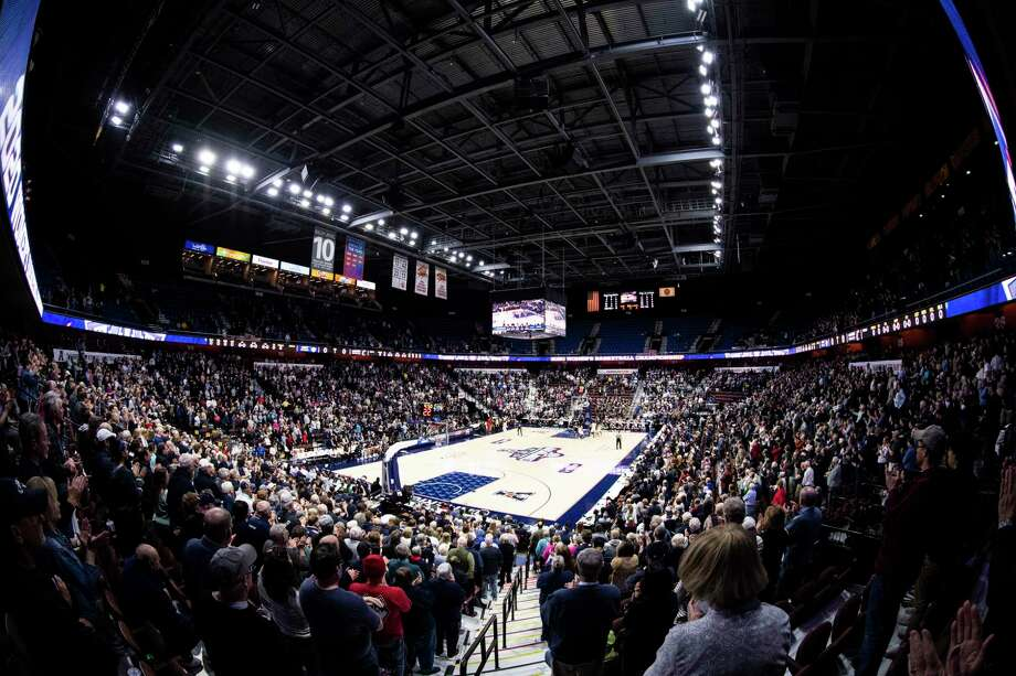 Mohegan Sun Arena says it is considering all options in regards to hosting a college basketball bubble. Photo: Benjamin Solomon / Getty Images / 2020 Benjamin Solomon 2020 Benjamin Solomon