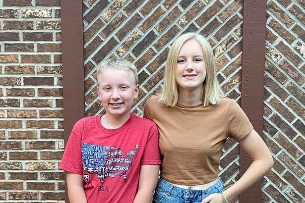 Parker, 7th grade, Big Rapids Middle School; Emma, 11th grade, Big Rapids High School