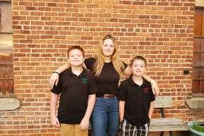 Carter, Alexis and Gabe, Crossroads Charter Academy