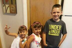Jace, 3rd grade, Riverview Elementary School; Natalia, kindergarten, Eastwood Elementary School; Maria Sophia, preschool