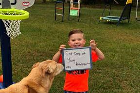 Jason Young, kindergarten, Eastwood Elementary School