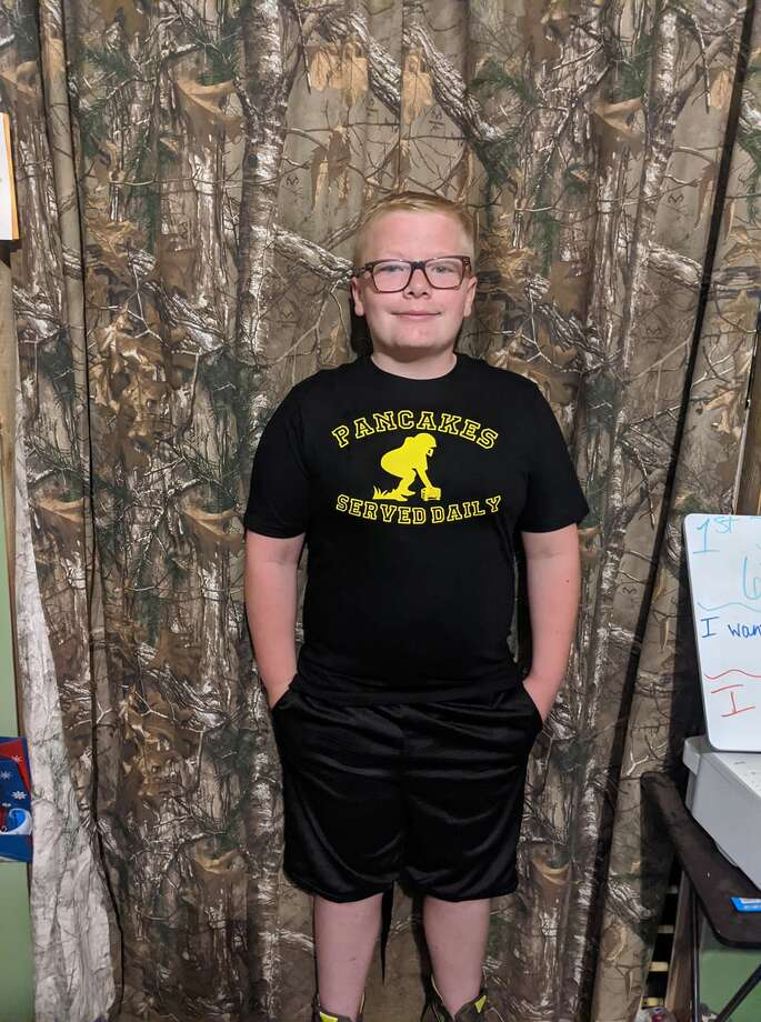 Aiden Denison, 6th grade, Pine River Area School Photo: Photo Submitted By Tasha Emma