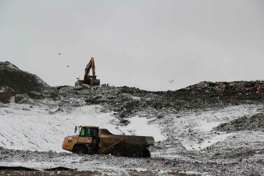 The Huron County Landfill back in February. The landfill is one of two sites in the Upper Thumb that has been tested in the past year for PFAS contaminants. (Tribune File Photo)