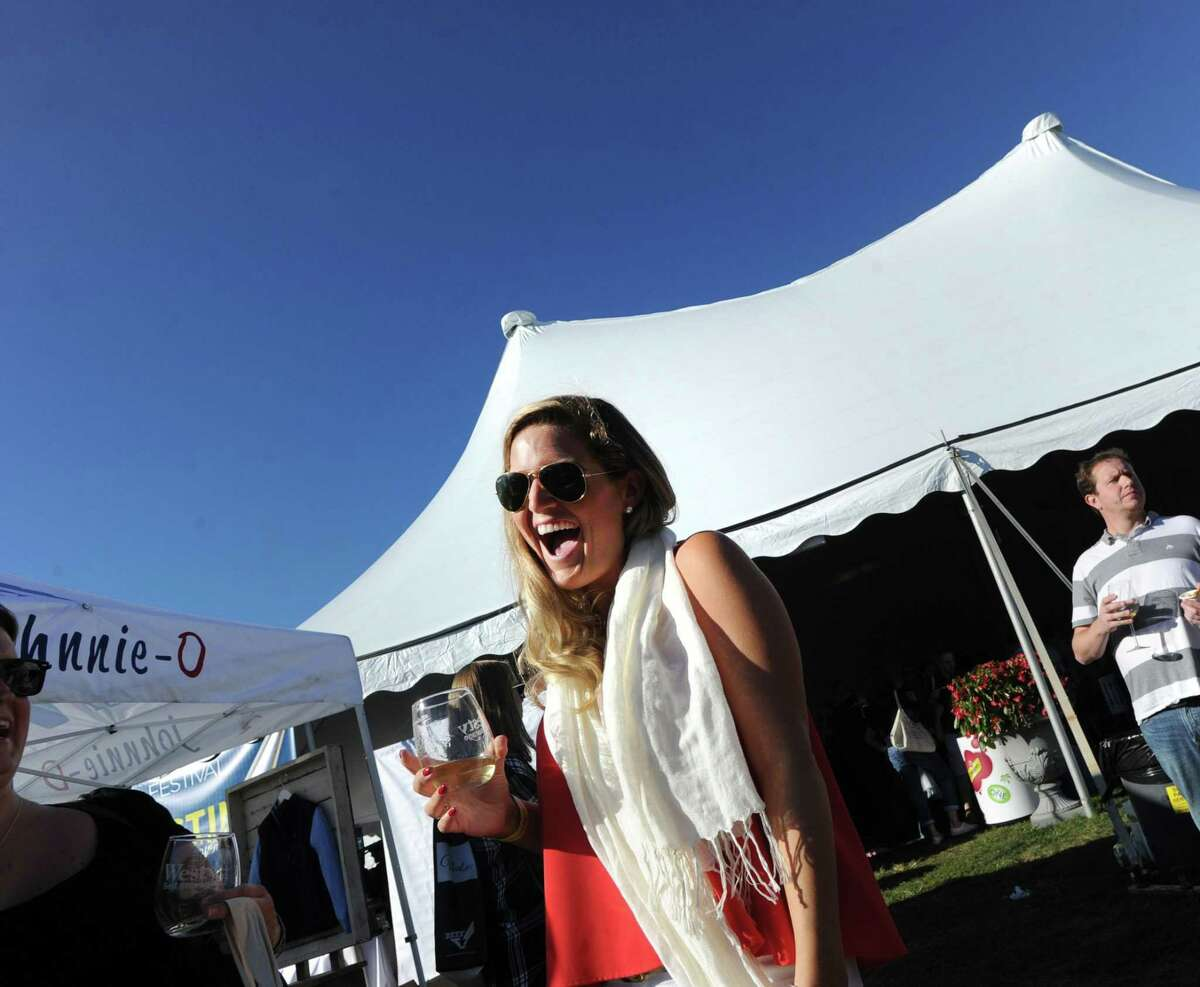 The Greenwich Wine + Food Festival at Roger Sherman Baldwin Park in Greenwich, Conn., Saturday, Sept. 24, 2016.