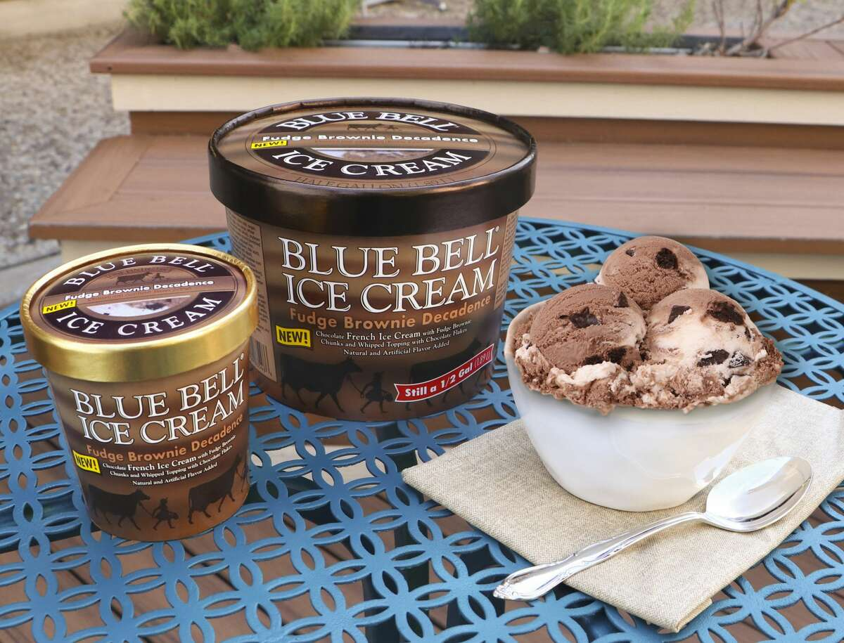 Blue Bell has unveiled new ice cream flavor, Fudge Brownie Decadence.