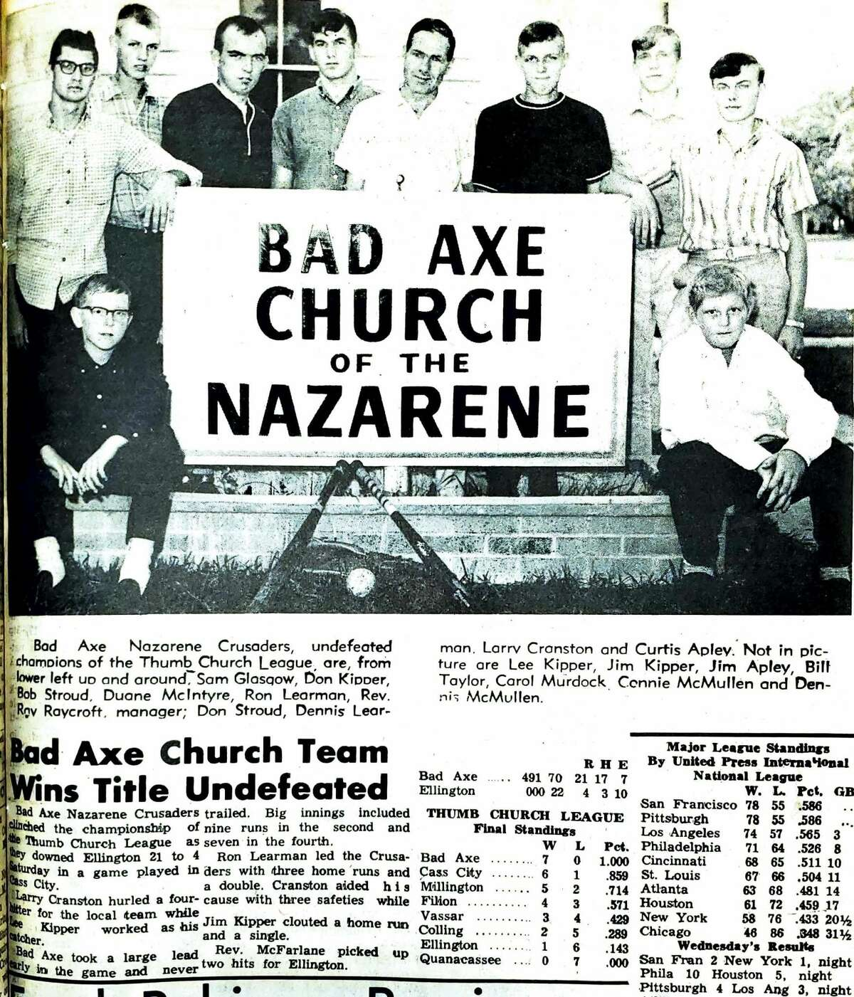 For this week's Tribune Throwback we go back to September 1966.