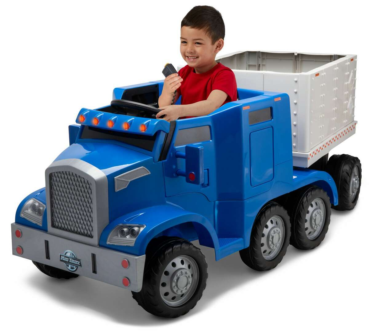 Semi-Truck and Trailer Ride On ($249.00) - Walmart Exclusive