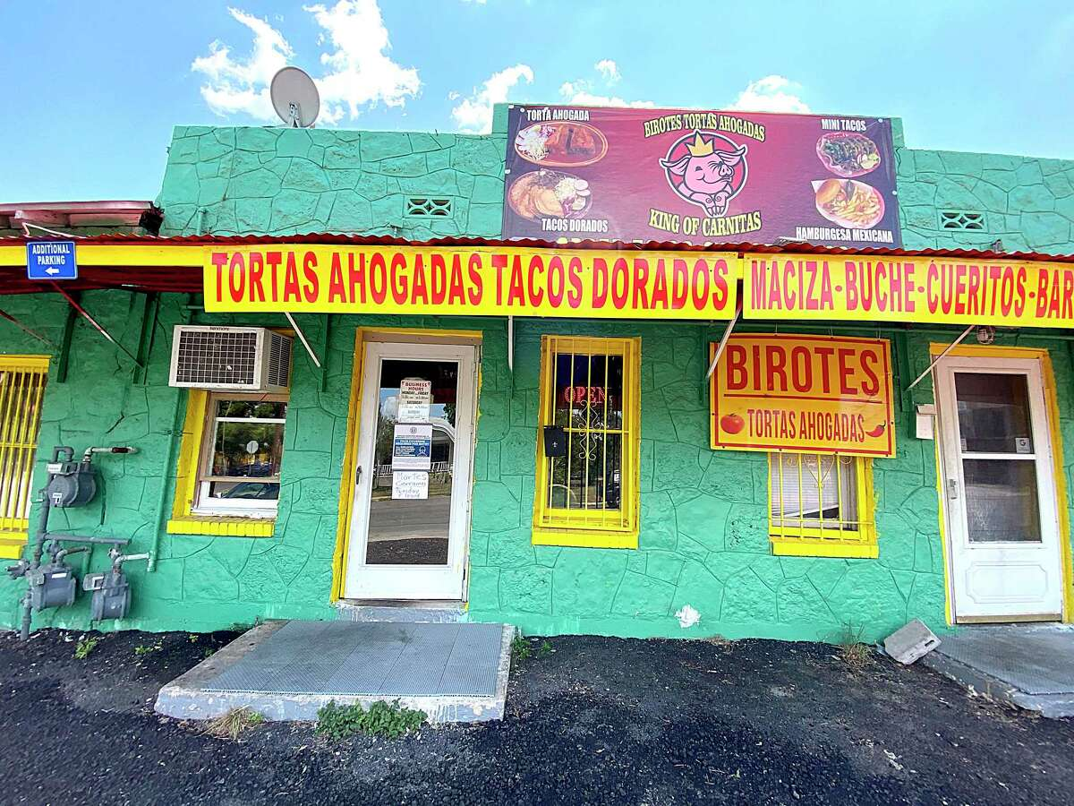 Birotes Tortas Ahogadas is one of a wave of San Antonio restaurants specializing in tacos and other dishes made with the spicy Mexican stew meat called birria.