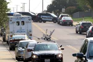 Laredo Police Department, Fire Department and Texas Rangers responded to the 8800 block of Shalom Circle, Thursday, September 3, 2020, where a man barricaded himself at his home after police responded to a call in the area.