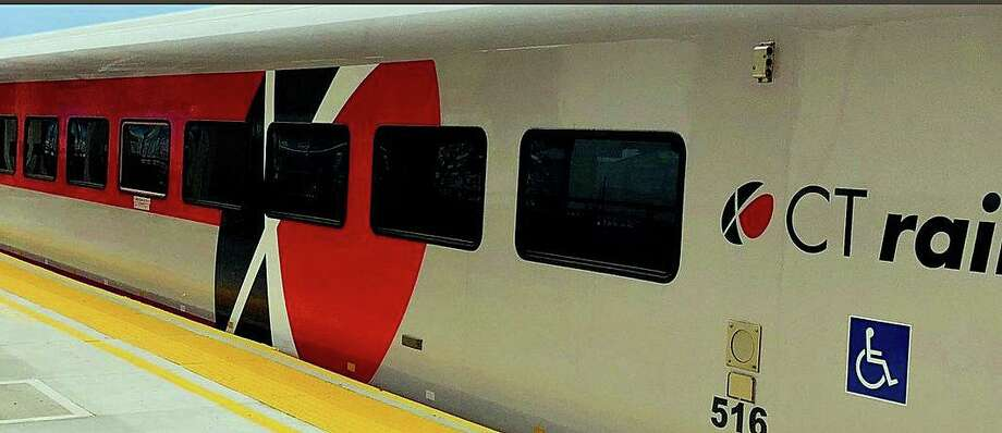 A person was struck and killed by a southbound Hartford Line train Thursday morning on Sept. 3, 2020. Photo: CT Rail Image