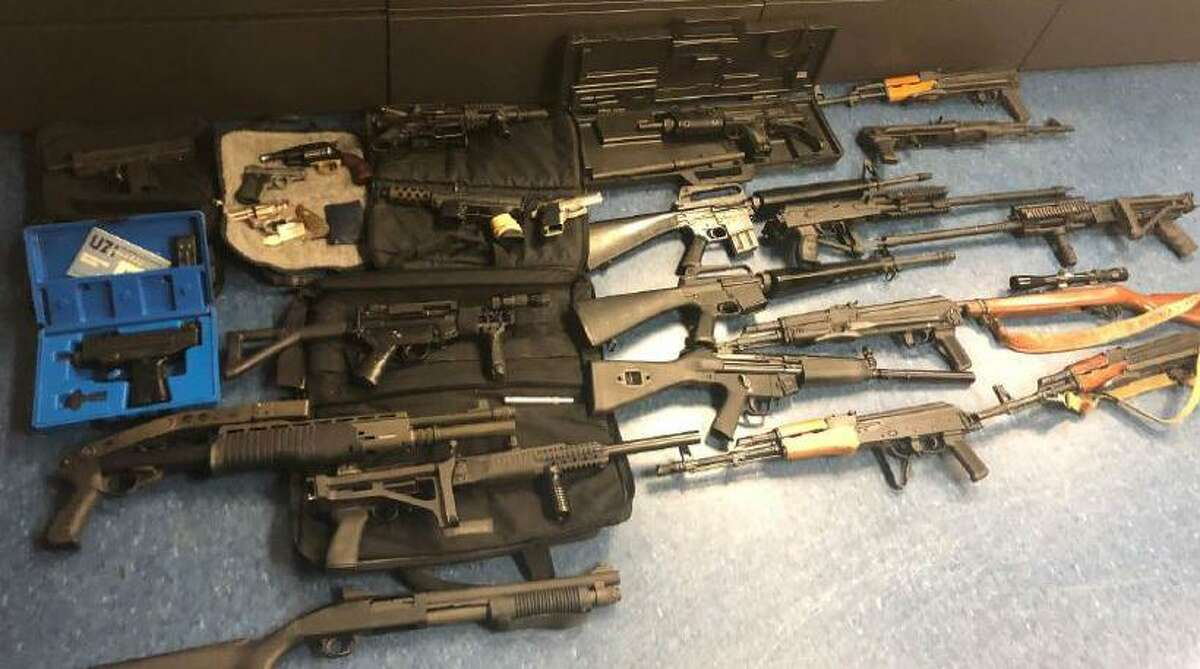 Charles Figueroa was the owner of numerous weapons, according to court documents filed in his sentencing on a federal charge last year.