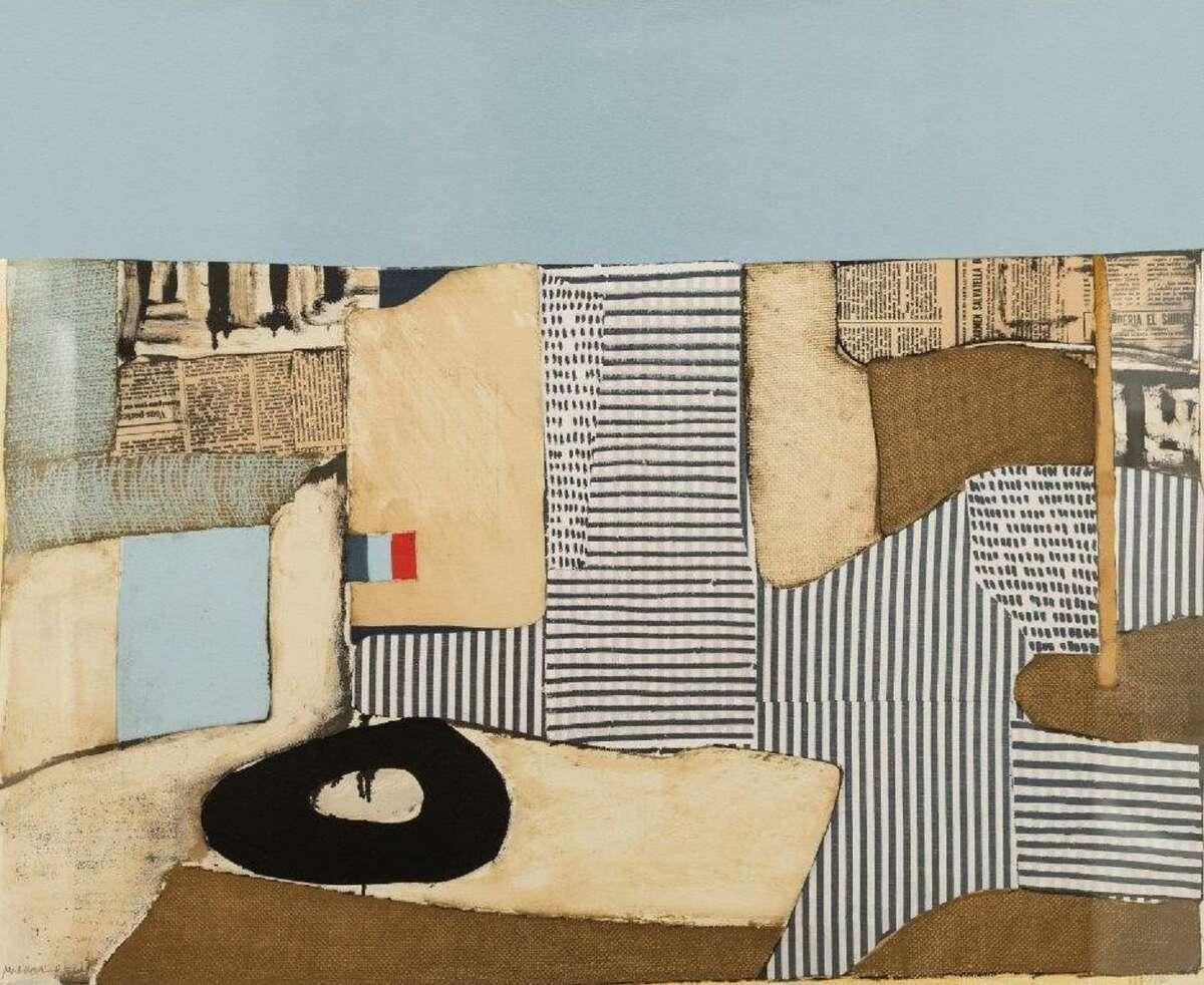 Conrad Marca-Relli's Ville Neuve, 1982. Lithograph on cream wove paper.