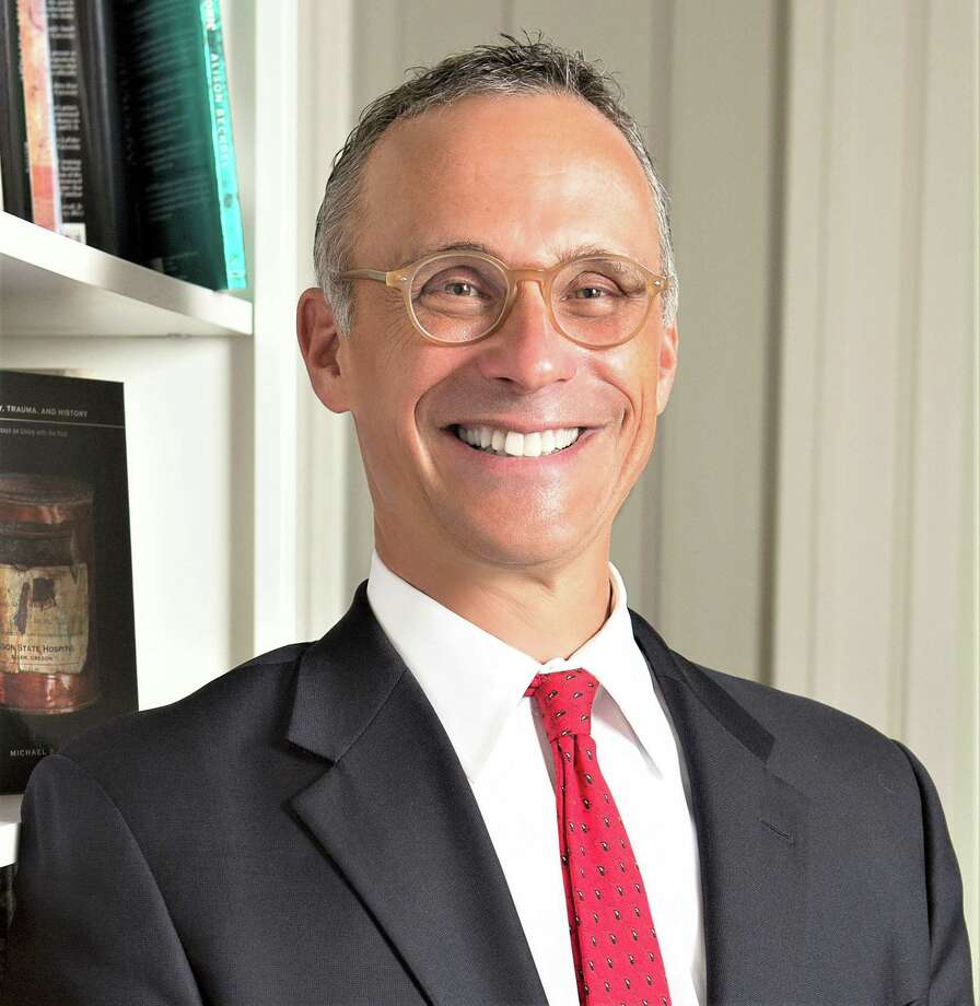Wesleyan President Michael Roth will be appearing virtually Wednesday at the Chicago Humanities Festival to discuss freedom of speech on college campuses. Photo: Contributed / Robert Adam Mayer Photo / © Robert Adam Mayer