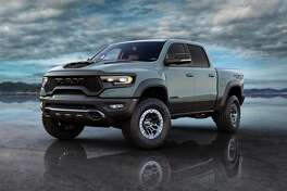 "All 702 orders for the ""Launch Edition"" of the upcoming 2021 Ram 1500 TRX were sold out in roughly three hours. The 702-horsepower super trucks will feature more than 13 inches of wheel travel at all four corners. Composite fender flares widen the body by 8 inches."