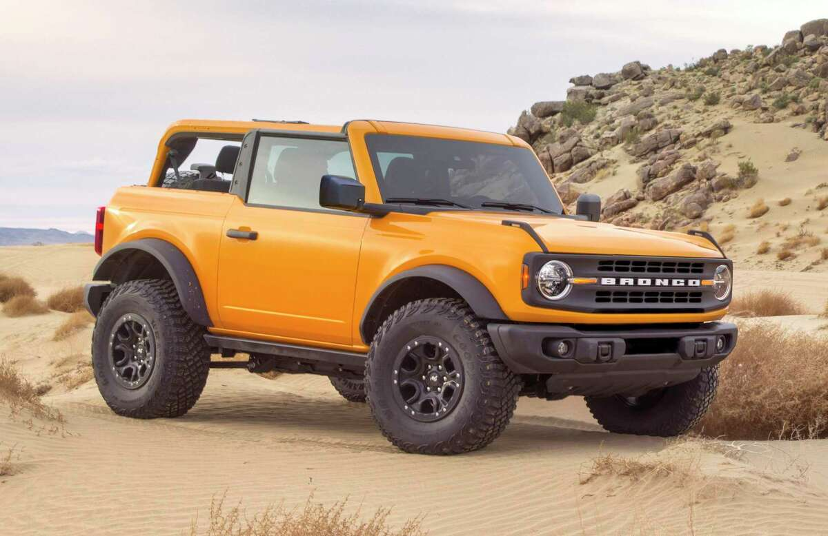 Set to arrive in the spring, the 2021 Ford Bronco will be offered as a neoclassic two-door reboot as well as a 21st century four-door version. For customization, Ford is promising more than 200 factory-approved accessories.