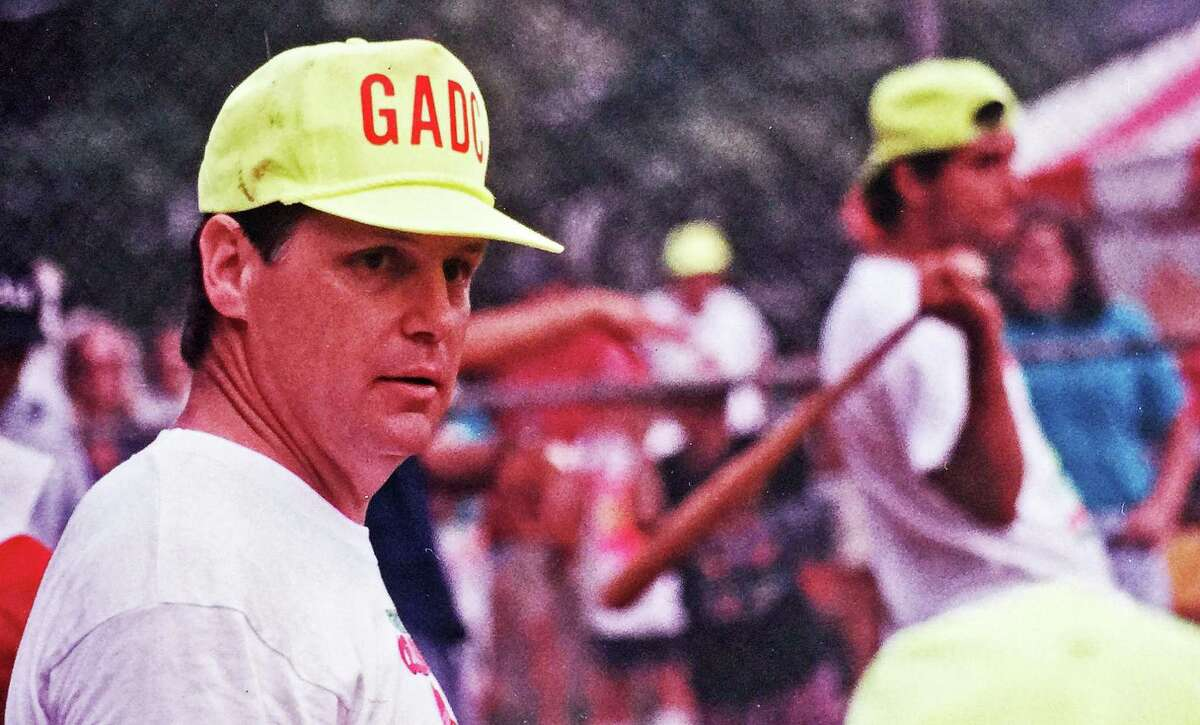 Baseball Hall of Famer Tom Seaver at a June 1991 charity softball game he hosted to benefit the Greenwich Adult Day Care Center in June 1991.