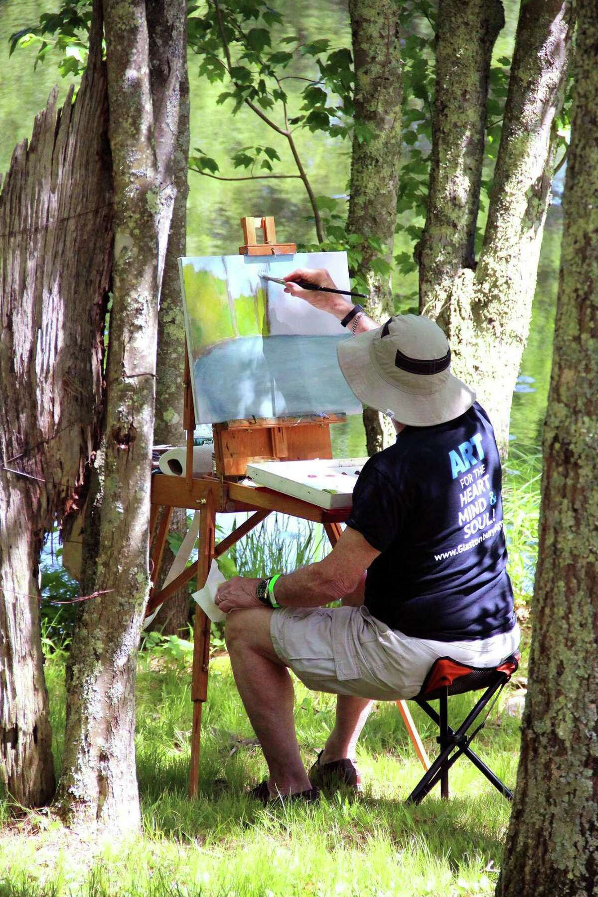 YOU PARK AT I-PARK: Arts collective I-Park in East Haddam (near Devil's Hopyard) will hold its Open Trails + Plein Air Paint-Out for artists, families and nature lovers on Saturday, Sept. 12, from 2-6 p.m. There will also be a new children's
