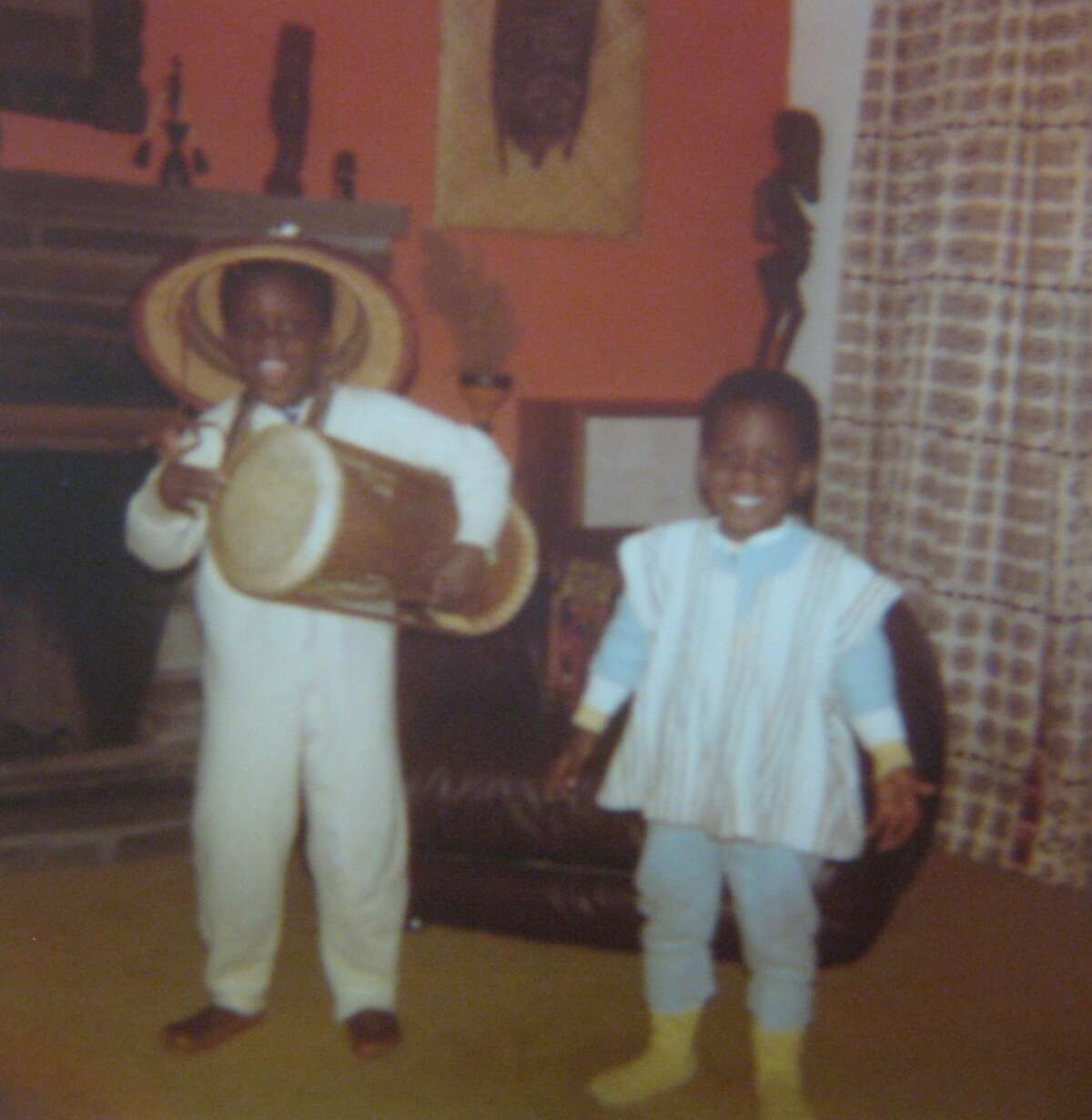 Ato Essandoh, left, and his brother, right. (Provided.)