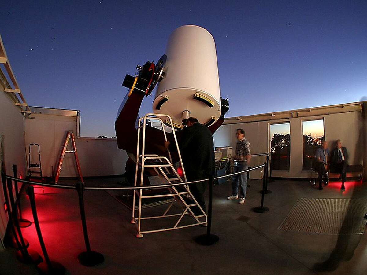 No one put a bid on a one-on-one night with the giant telescope at Chabot Science snd Space Center
