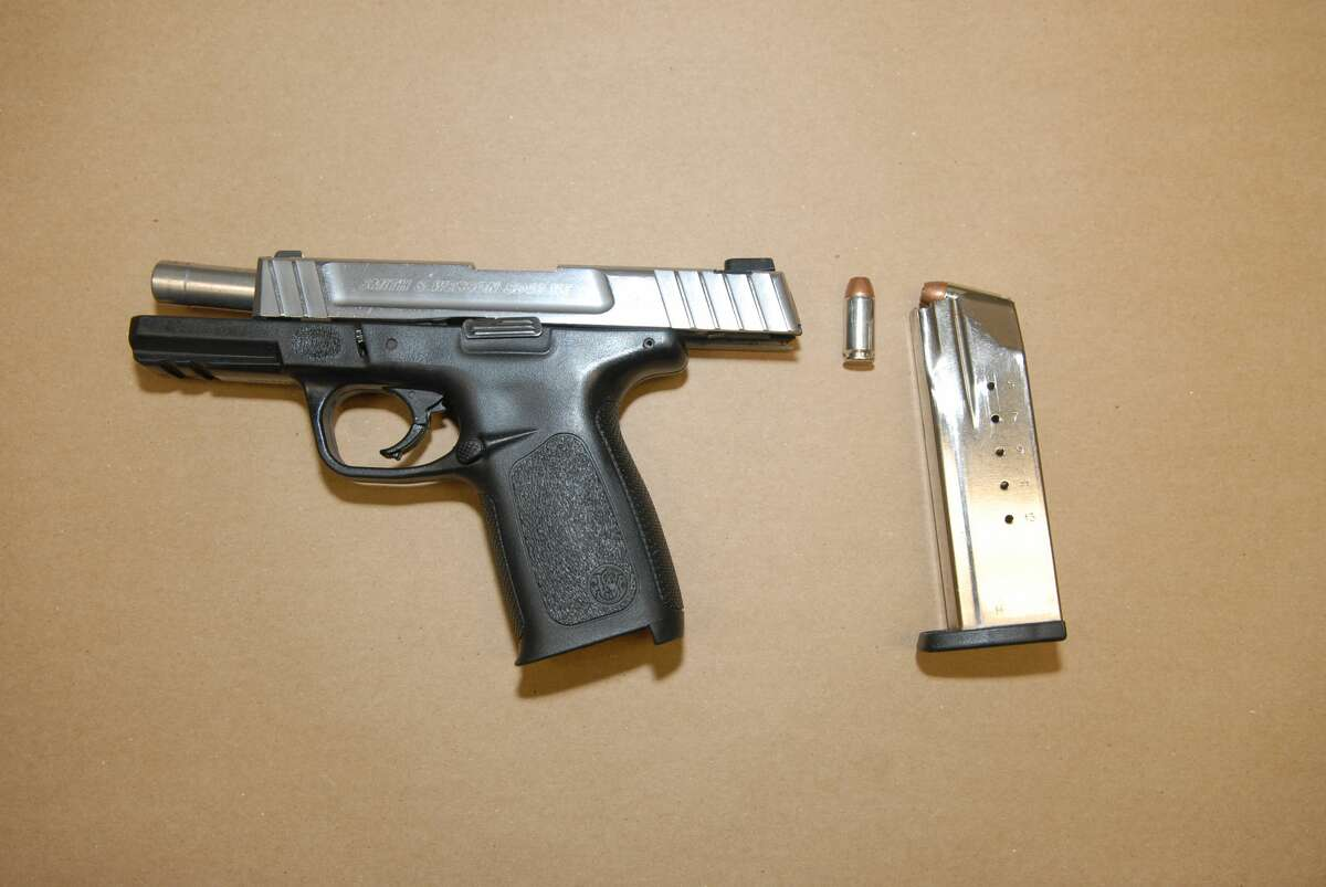 Recovered handgun