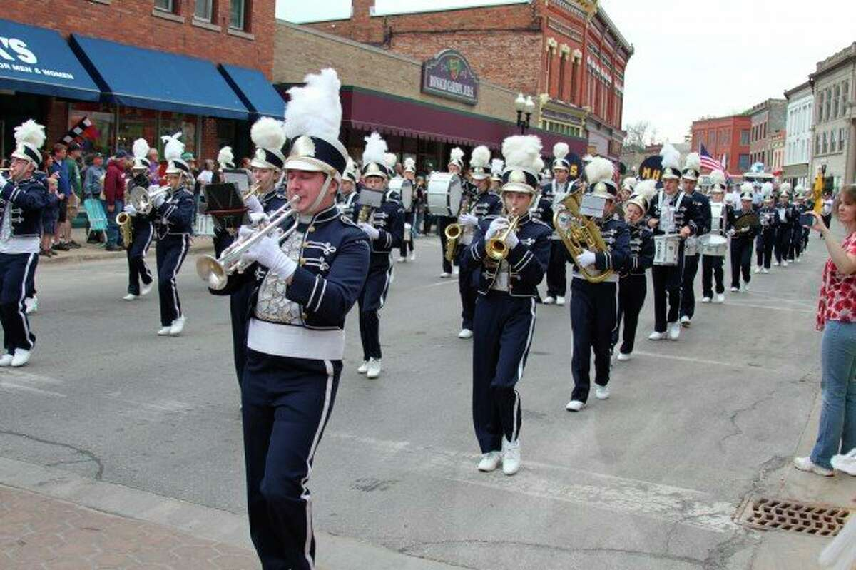 The Manistee High School Marching Band may not be able to put on performances during the 2020-21 school year, but director of bands Andrea Mack said students will still be working on marching skills in order to get outside and socially distance. (File photo)