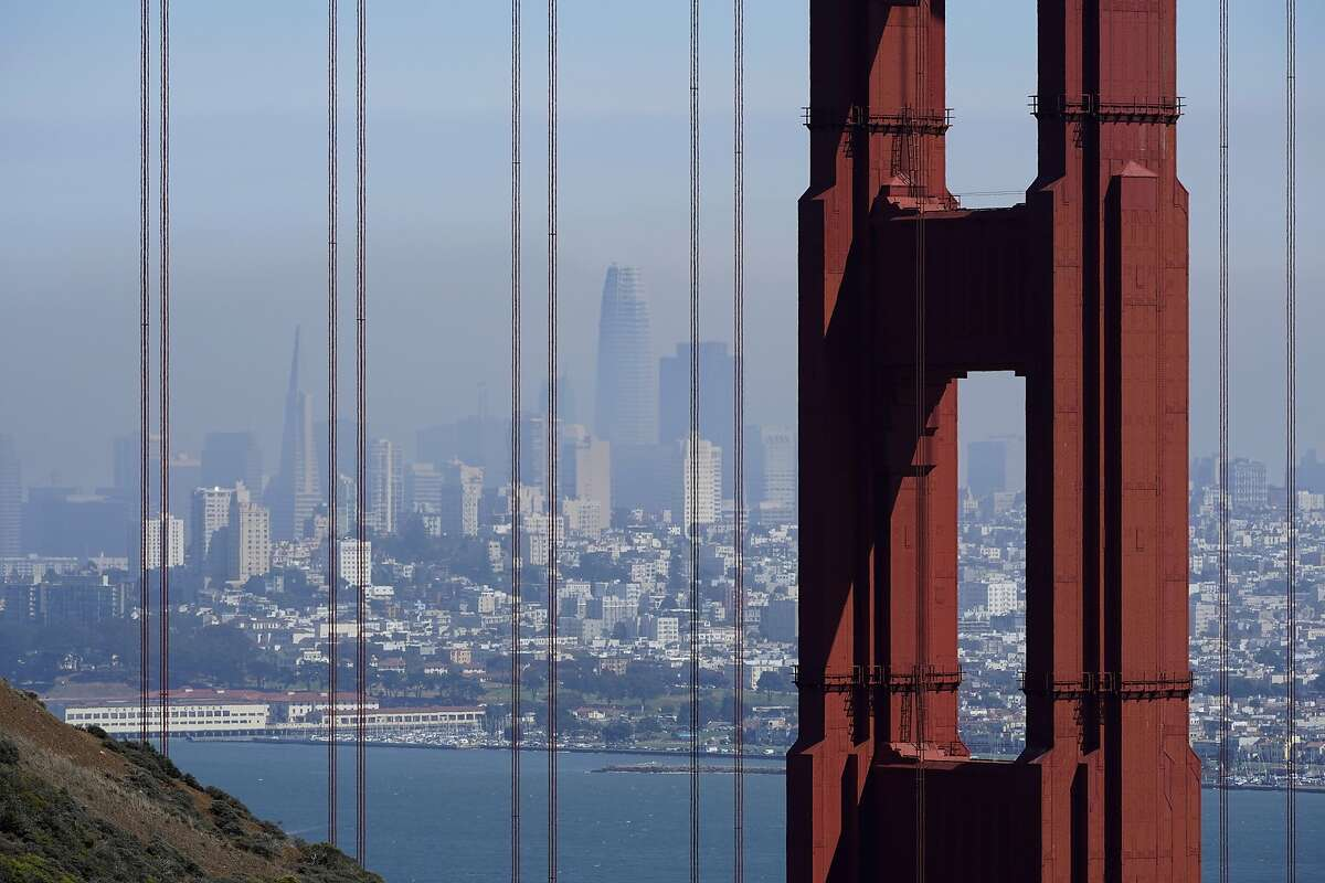 File photo of the Golden Gate Bridge.