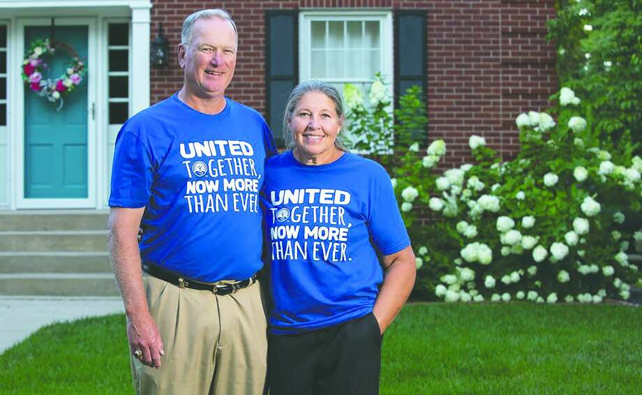 Reggie and Cynthia Benton are campaign chairs for Prairieland United Way's fundraising campaign. Photo: Warmowski Photography