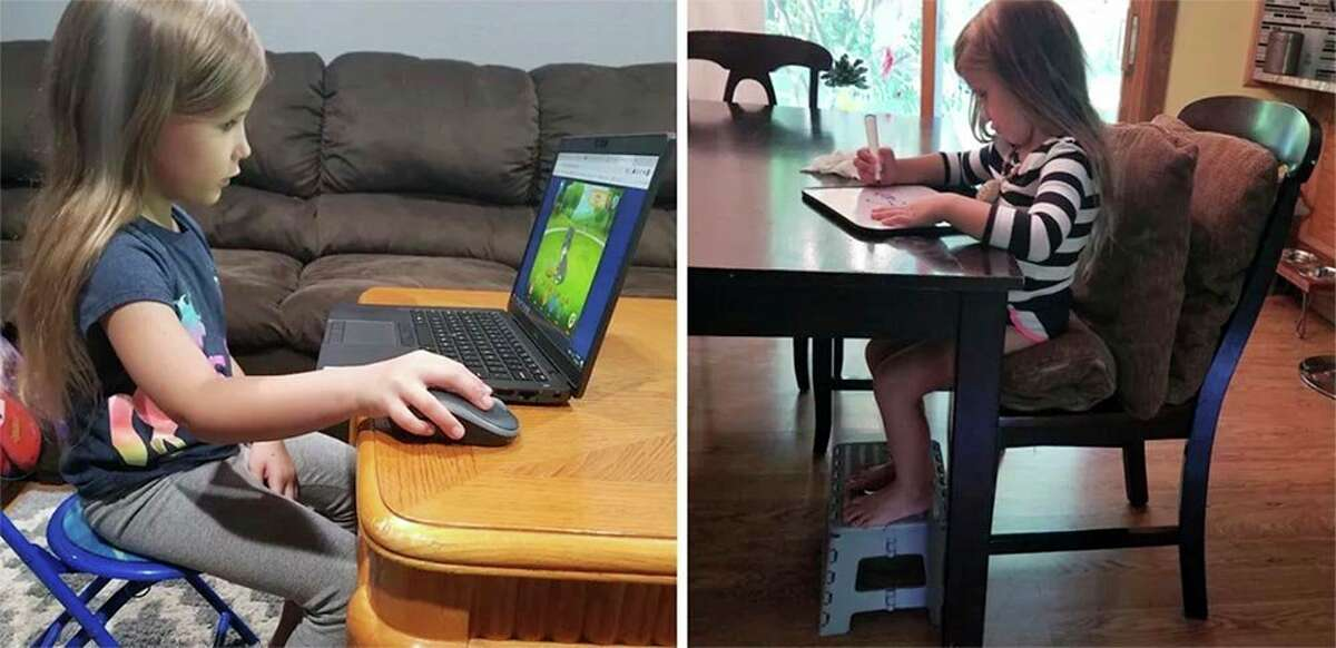One tip for remote learning is to prioritize proper seating. (Photo provided)