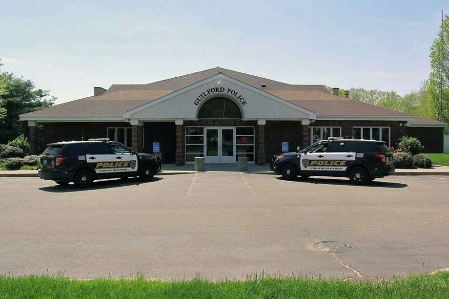 File photo of the Guilford Police Headquarters Photo: Contributed Photo / Guilford Police Department