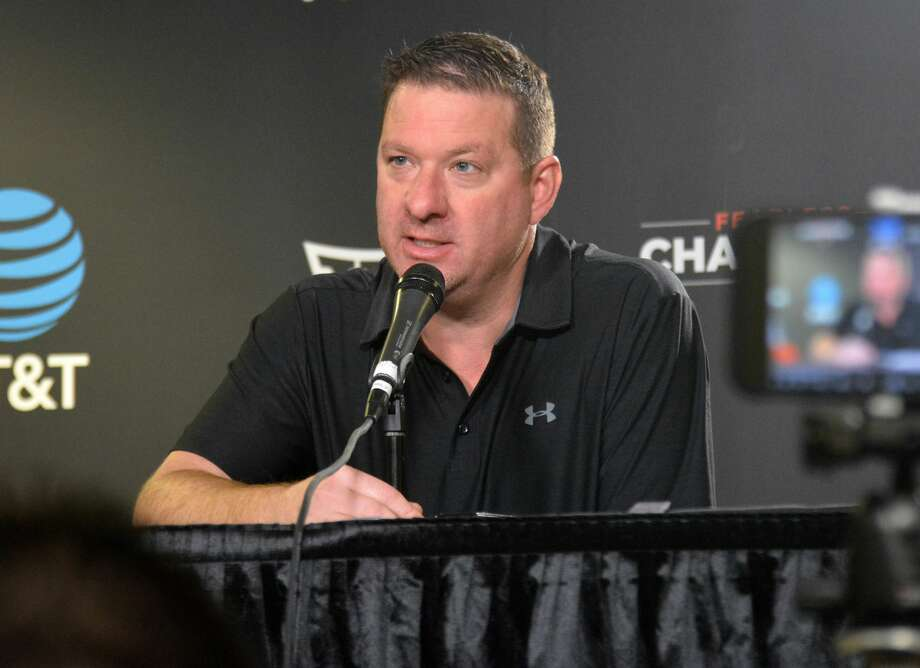 Texas Tech men's basketball head coach Chris Beard says the Red Raiders have a deep roster of talented players looking ahead to the 2020-21 season. Photo: Nathan Giese/Planview Herald