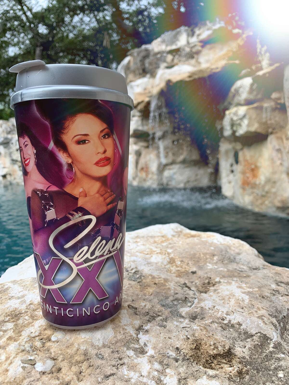 The Selena 25 cups will be available at Stripes Stores.