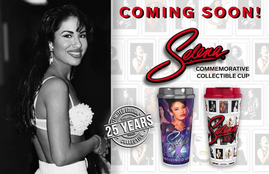 The Selena 25 cups will be available at Stripes Stores. Photo: Stripes