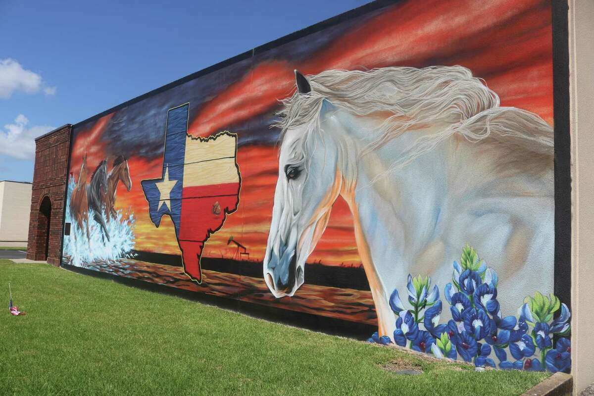 The 22 x 65 foot painting that no one can miss when driving down Clearview Avenue. Painted by Adam Socie, it was completed in January of 2019.
